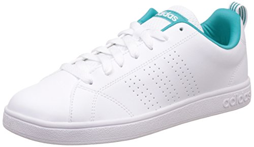 adidas Damen Advantage Clean Vs W Turnschuhe Blanco (Ftwbla / Ftwbla / Verimp)