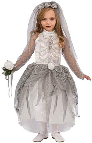 Kind Kostüm Skelett Braut - Forum Novelties Skelett Braut Kostüm