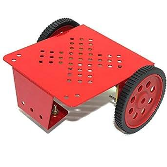 VEEROBOT 2 Wheel Drive Platform with metal chassis