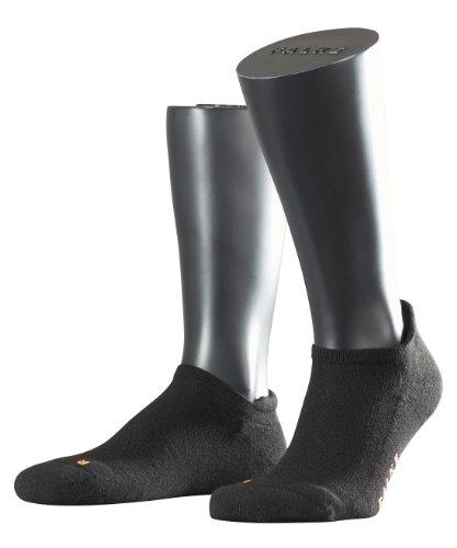 FALKE Herren Sneakersocken Cool Kick SN, Gr. 44/45, Schwarz (Sneaker Geformte)