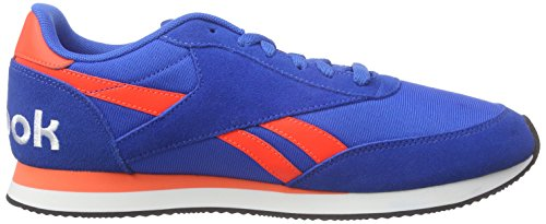 Reebok Royal Classic Jogger 2RS, Scarpe da Corsa Uomo Blau (Blue Sport/Atomic Red/Black/White)
