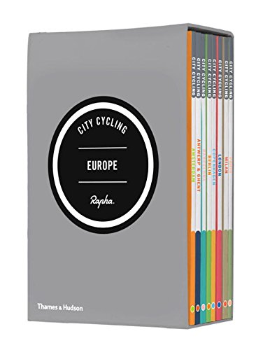 City Cycling Europe: Slipcased set of 8 paperback volumes, including Paris, Milan, London, Copenhagen, Berlin, Barcelona, Antwerp & Ghent and Amsterdam por Andrew Edwards
