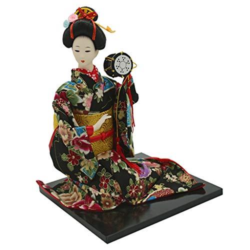 F Fityle 16 Pulgadas Muñeca Kimono Japonesa Modelismo de Figura Acción Femenina Colecciones Oriental - D