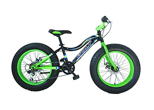 "Bolt Fat Bike Bicicletta 20"", Verde/Nero"