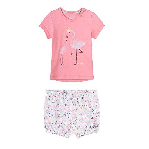 Sanetta Baby-Mädchen Sweatanzug Spieler Flamingo, Gr. 86