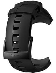Suunto, Original Ersatz-Uhrenarmband für alle Suunto Spartan Sport Wrist HR Uhren, Silikon, Länge: 24,5 cm, Stegbreite: 25 mm, Inkl. Stifte zur Montage