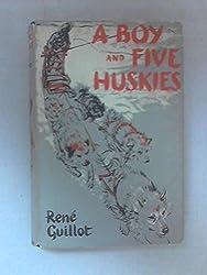 A Boy & Five Huskies