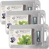 Filtro antibaterico Microban per frigoriferi Whirlpool 3 pezzi immagine
