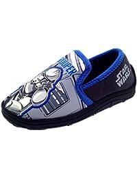 Disney Chicos Niños Star Wars Clon Soldado Pantuflas Zapatos Número RU 7-1