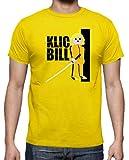 Camiseta de Hombre Click Kill Bill Tarantino playmobil M