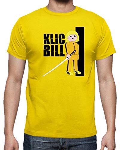 Camiseta Hombre Click Kill Bill Tarantino playmobil