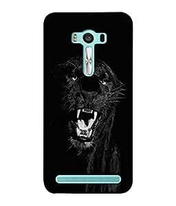 PrintVisa Designer Back Case Cover for Asus Zenfone 2 Laser ZE500KL (5 Inches) (The Roaring Tiger Classy Design)