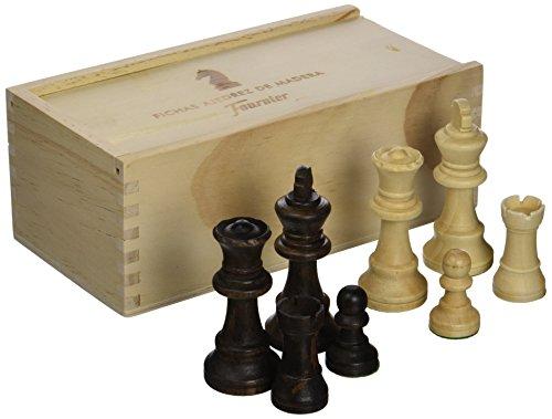 Fournier - Fichas ajedrez de madera, Staunton nº4