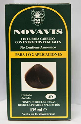 Herbatint 4D Golden Chestnut Permanent Herbal Hair Colour Gel 135ml -