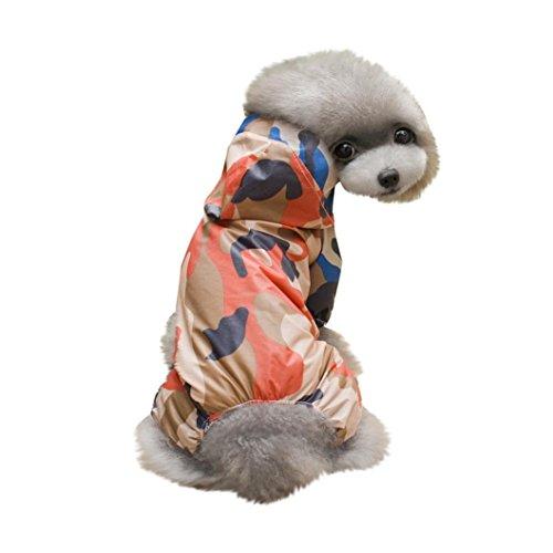 Longra★ 2018 Pet Dog Impermeable Capucha Mascota