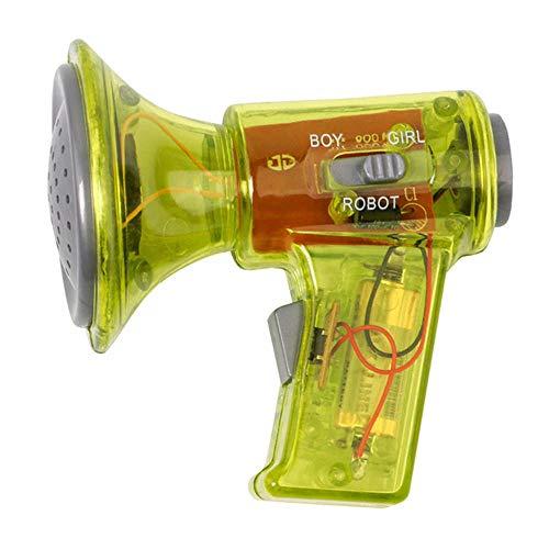 KOBWA Multi Voice Changer Amplifier 3 Verschiedene Stimmen (Junge / Mädchen / Roboter) Lustige Spielzeuglautsprecher Kinder