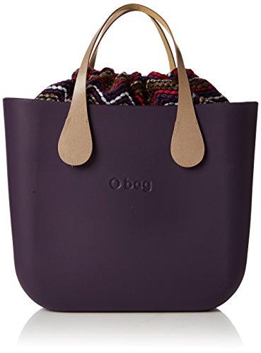 O bag evs00_tes88_ecs00, borsa a mano donna, rosso (melanzana), 31 x 29 x 12 cm (w x h x l)