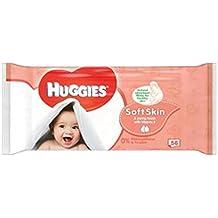 Huggies Toallitas Para Bebé Piel Suave Individuales 56 (Paquete ...