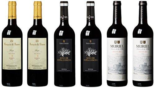 Wein Probierpaket Traumhafte Riojaweine (6 x 0.75 l)