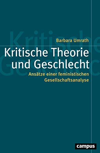 Kritische Theorie und Geschlecht: Ansätze einer feministischen Gesellschaftsanalyse (Politik der Geschlechterverhältnisse 61)
