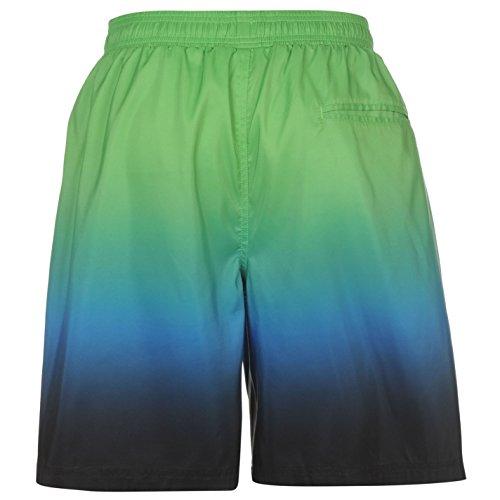 Hot Tuna Herren Gradient Boardshorts Badeshorts Freizeit Strand Shorts Grün
