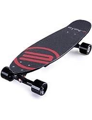 E-Road BR1020CCH Skateboard Électrique Mixte Enfant, Noir