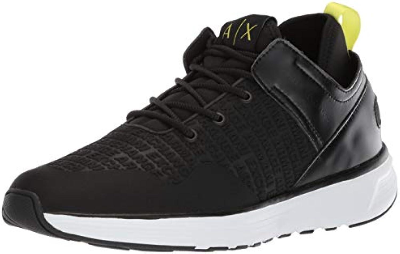 ARMANI EXCHANGE scarpe scarpe scarpe da ginnastica Uomo Eco Pelle nero | Materiali Accuratamente Selezionati  bc7da6