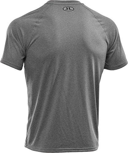 Under Armour Herren Fitness T-Shirt UA Tech Tee True Gray Heather