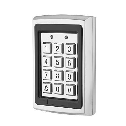 T6 Touch Tür Zutrittskontrolle 125KHz Reader RFID Karte Sicherheitstür Zutrittskontrolle für Haus (Haus Karten)