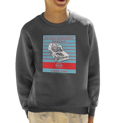 Haynes Workshop Manual 0607 Bedford HA Van Stripe Kid's Sweatshirt (Bedford-tv)