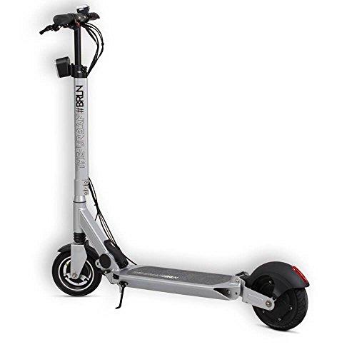 The Urban #BRLN faltbarer Elektro-Roller 20 km Reichweite, 25kmh Topspeed, Scooter wiegt nur 14Kg und trägt 100Kg Zuladung, 250 Watt Motor