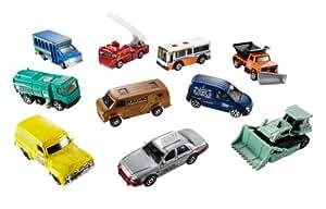 Mattel 34307 Matchbox Coffret de 10 petites voitures - modele aleatoire.