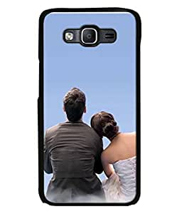 PrintVisa Designer Back Case Cover for Samsung Galaxy On 5 Pro (couple enjoying each others company)