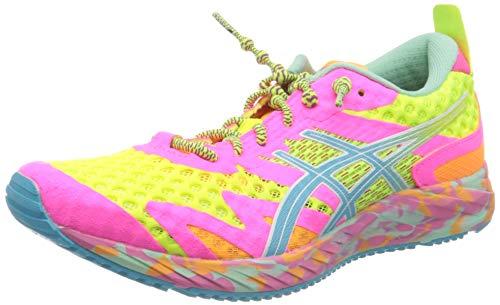 Asics Gel-Noosa Tri 12, Running Shoe Womens, Safety Yellow/Aquarium