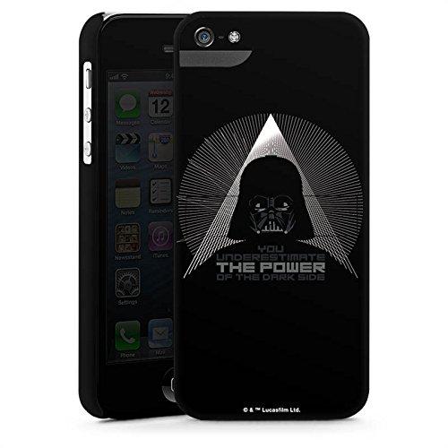 Apple iPhone X Silikon Hülle Case Schutzhülle Star Wars Fanartikel Zubehör Darth Vader Premium Case StandUp