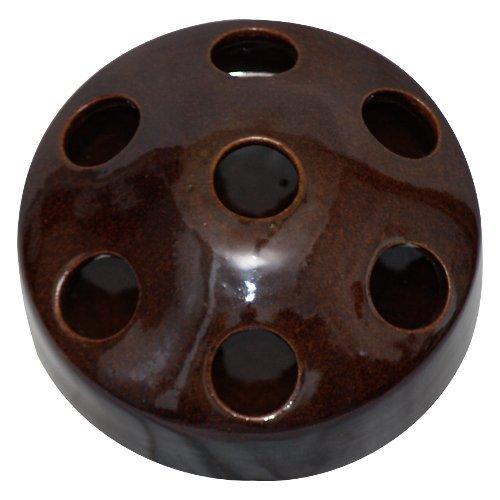 K&K Geflügeltränke / Gänsesaufe / Entenschnatter, braun, 22x10cm aus Steinzeug (Keramik) - 2