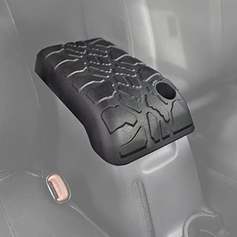 2001-2006 Jeep Wrangler (TJ) - Boomerang Tire Tread ArmPad - Center Console Armrest Cushion by Boomerang