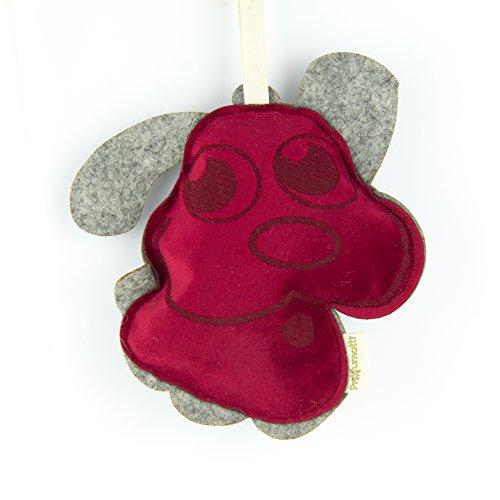 Profumotti Cane rosso - profumatore deodorante per casa e auto made in Italy- Passion Fruit & Melograno
