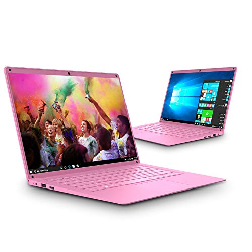 Intel Celeron J3455 - Ordenador Portatil Ultrabook 14.1''IPS/HD(Notebook Intel Core i7, 6GB RAM, 128GB SSD, Windows 10, Intel HD Graphics 500(Rosa)