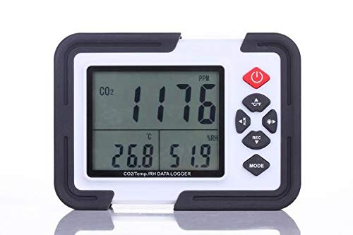 Perfect-Prime CO2000 Carbon Dioxide (CO2) Mesureur et moniteur de donnees de temperature et...