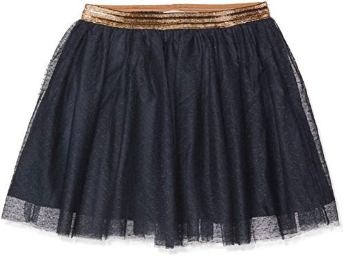 Blau Kostüm Rock - NAME IT Mädchen NKFTULLU Tulle Skirt NOOS Rock, Blau Dark Sapphire, 146