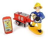 Dickie Toys 203095008 Wasserspritzfunktion Feuerwehrmann Sam ferngesteuerte Spielfigur