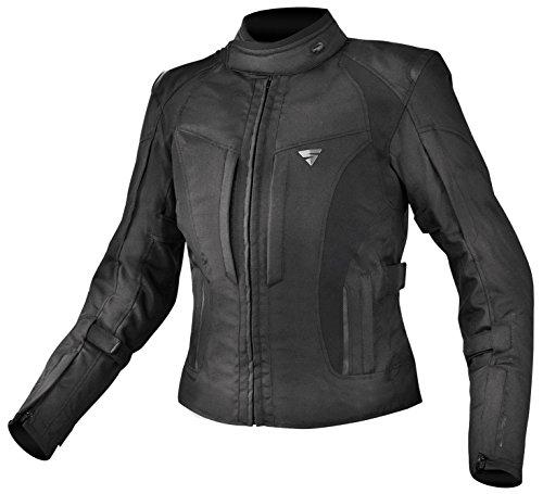 Shima Chaqueta de mujer para motociclismo Volante-Resistente al agua, transpirable, con tejido protector