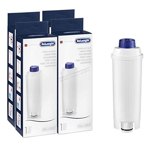 4x DeLonghi filtro de agua cafetera BCO ECAM ETAM DLS C002 SER3017 5513292811