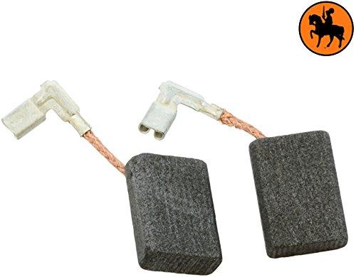 Preisvergleich Produktbild Kohlebürsten für MAKITA 9561CVR Schleifer -- 5x11x15,5mm -- 2.0x4.3x5.9'' -- Mit automatische Abschaltung