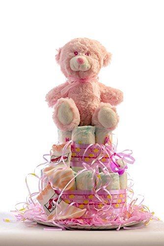 Flores AVRIL ofrece: tarta pañales bebé
