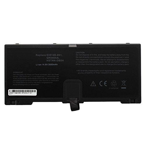 SODIAL (R) 4 pilas 14.8V 2800Mah bateria del ordenador portatil para HP ProBook 5330m 635146-001 HSTNN-FN04 DB0H QK648AA