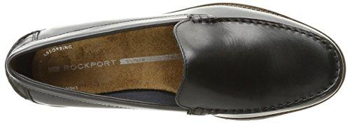 Rockport - Chaussures vénitiennes Classicmove pour hommes Black Lea