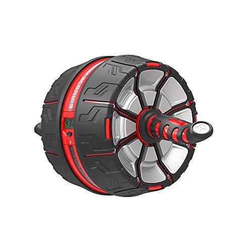 KFXL fujilun Ab Roller Wheel - Kerntrainingsgerät für Bauchmuskeltraining mit Knieschützern und Rutschfesten Griffen AB Roller Bauchtrainer