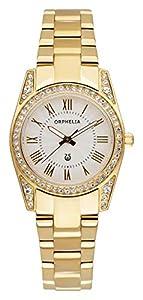 ORPHELIA–Reloj de Pulsera analógico para Mujer Cuarzo Acero Inoxidable